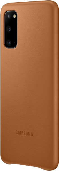 Samsung Leather Cover EF-VG980 für Galaxy S20, Brown