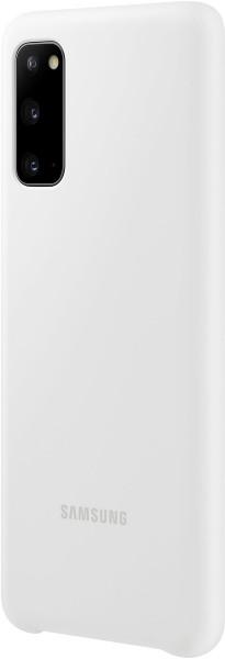 Samsung Silicone Cover EF-PG980 für Galaxy S20, White