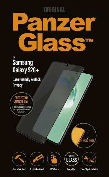 "PanzerGlass Privacy ""CF"" Samsung Galaxy S20+, sw"