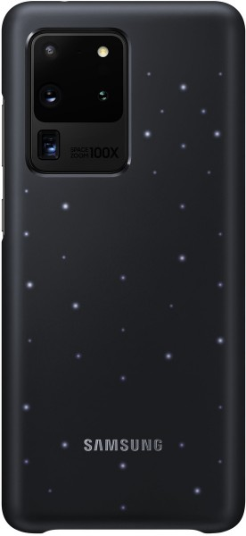 Samsung LED Cover EF-KG988 für Galaxy S20 Ultra, Black