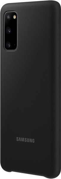 Samsung Silicone Cover EF-PG980 für Galaxy S20, Black