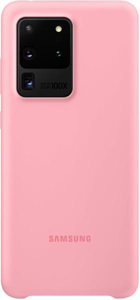 Samsung Silicone Cover EF-PG988 für Galaxy S20 Ultra, Pink