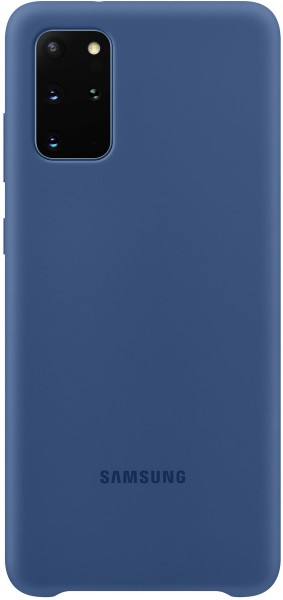 Samsung Silicone Cover EF-PG985 für Galaxy S20+, Navy
