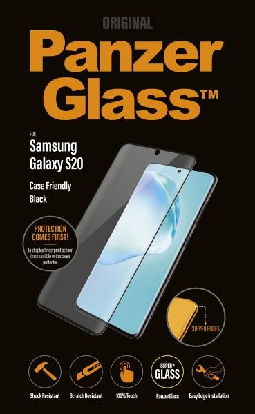"""PanzerGlass """"CF"""" für Samsung Galaxy S20, sw"""