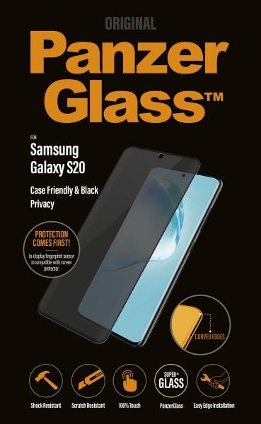 """PanzerGlass Privacy """"CF"""" für Samsung Galaxy S20, sw"""