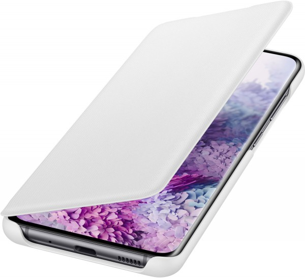 Samsung LED View Cover EF-NG980 für Galaxy S20, White