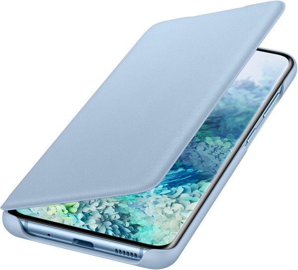 Samsung LED View Cover EF-NG980 für Galaxy S20, Sky Blue