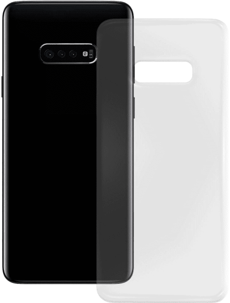 PEDEA Soft TPU Case für Samsung Galaxy S10, transparent