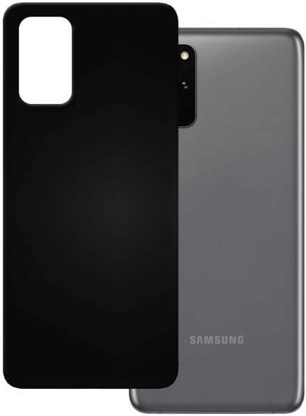 PEDEA Soft TPU Case für Samsung Galaxy S20+, schwarz