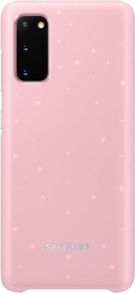 Samsung LED Cover EF-KG980 für Galaxy S20, Pink