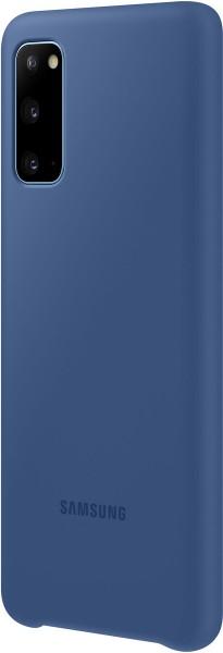 Samsung Silicone Cover EF-PG980 für Galaxy S20, Navy