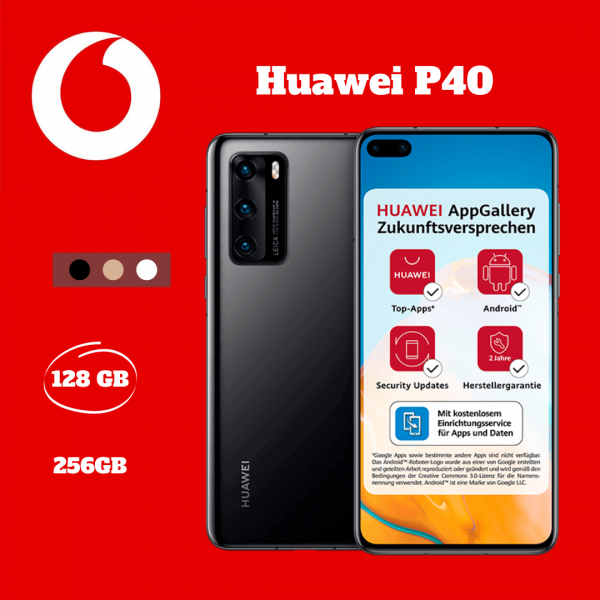 Huawei P40 Vertragsverlängerung Vodafone