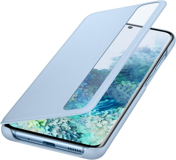 Samsung Clear View Cover EF-ZG980 für Galaxy S20, Sky Blue