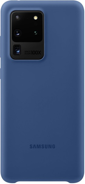 Samsung Silicone Cover EF-PG988 für Galaxy S20 Ultra, Navy