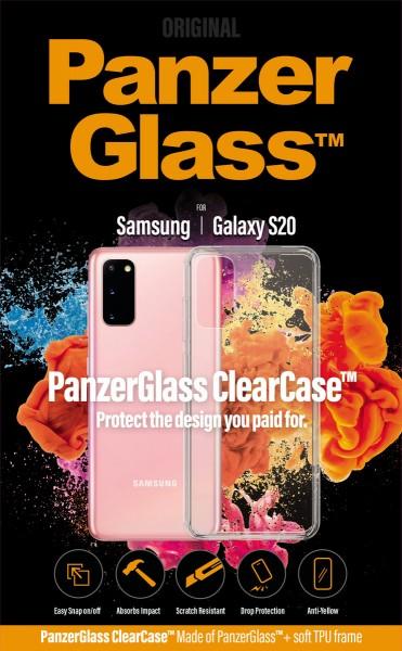 PanzerGlass ClearCase für Samsung Galaxy S20