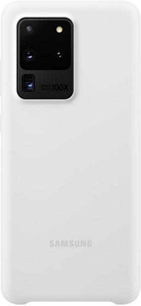 Samsung Silicone Cover EF-PG988 für Galaxy S20 Ultra, White