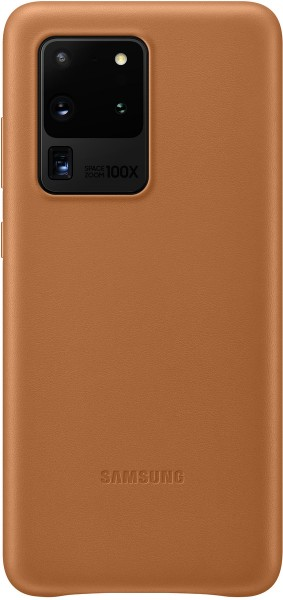 Samsung Leather Cover EF-VG988 für Galaxy S20 Ultra, Brown