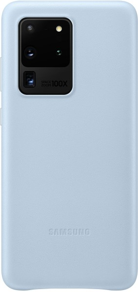 Samsung Leather Cover EF-VG988 für Galaxy S20 Ultra, Sky Blue