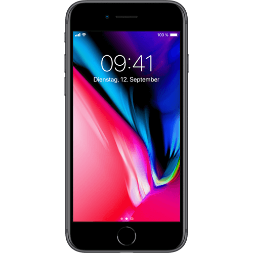 Apple iPhone 8 64GB spacegrau (Vorführ/Vitrinen Gerät)