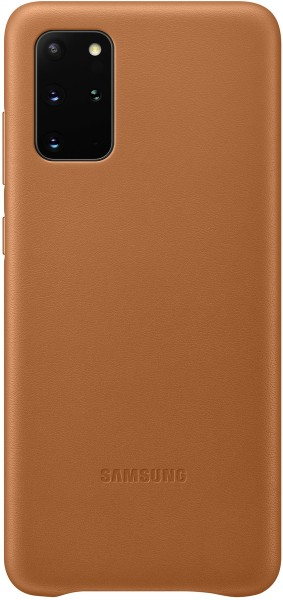 Samsung Leather Cover EF-VG985 für Galaxy S20+, Brown
