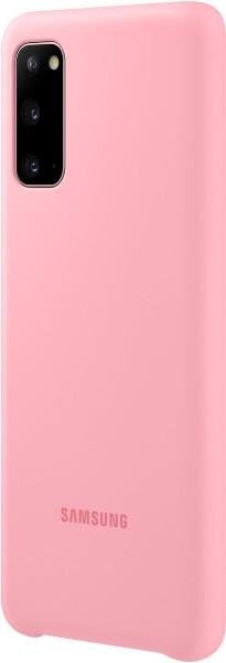Samsung Silicone Cover EF-PG980 für Galaxy S20, Pink