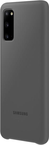 Samsung Silicone Cover EF-PG980 für Galaxy S20, Gray