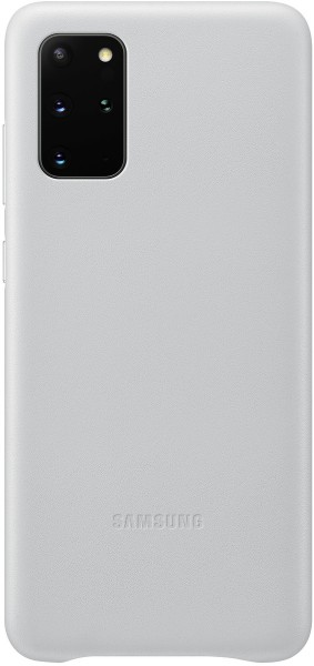 Samsung Leather Cover EF-VG985 für Galaxy S20+, Light Gray