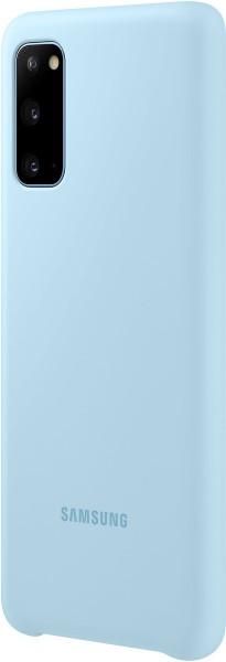 Samsung Silicone Cover EF-PG980 für Galaxy S20, Sky Blue