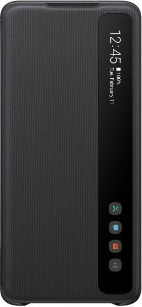 Samsung Clear View Cover EF-ZG985 für Galaxy S20+, Black