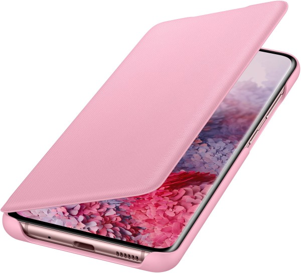 Samsung LED View Cover EF-NG980 für Galaxy S20, Pink